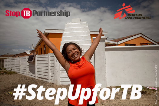image of #StepUpforTB